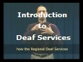 Introduction to Deaf Services
